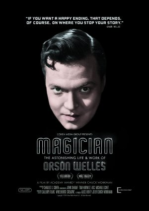 Magician: The Astonishing Life and Work of Orson Welles Poster