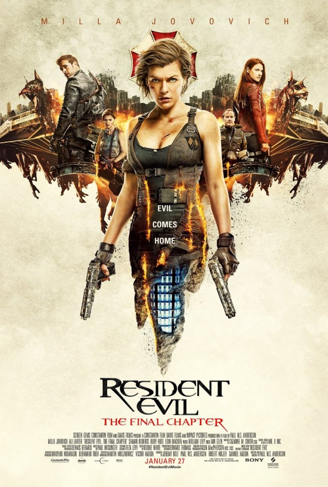 Resident Evil - The Final Chapter Poster