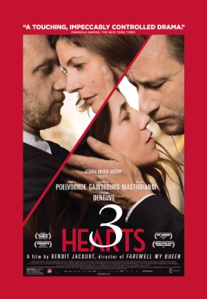 3 Hearts Poster